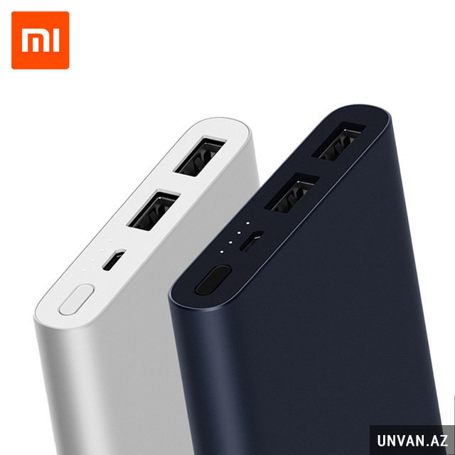Xiaomi 10 000 mah dual port power bank