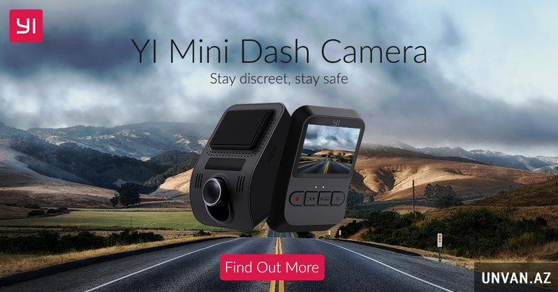 Yi Mini Smart Dash Camera FHD