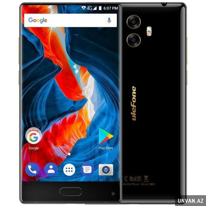 UleFone Mix (4GB, 64GB, Black)