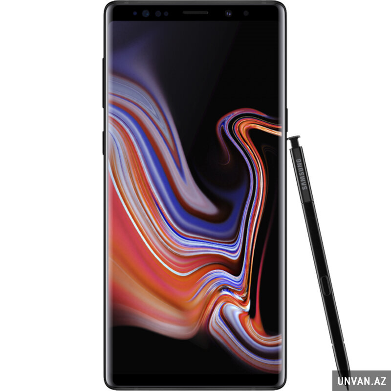 Samsung Galaxy Note 9 (6GB, 128GB, Midnight Black) telefon