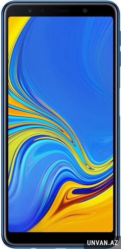 Samsung Galaxy A7 2018 (4GB, 128GB, Blue) telefon