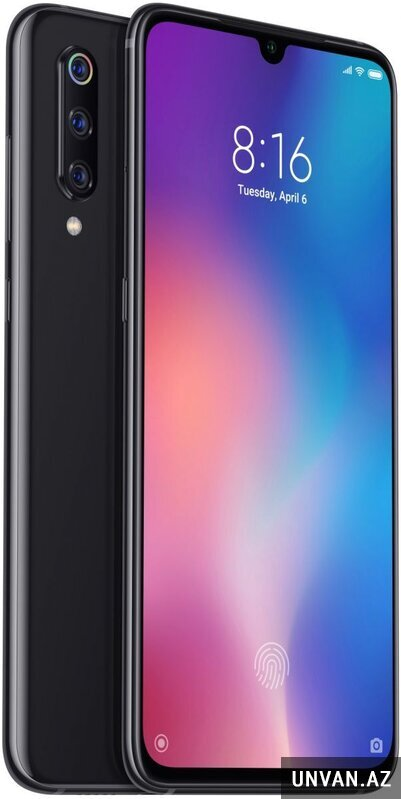 Xiaomi Mi 9 (6GB, 128GB, Piano Black) telefon