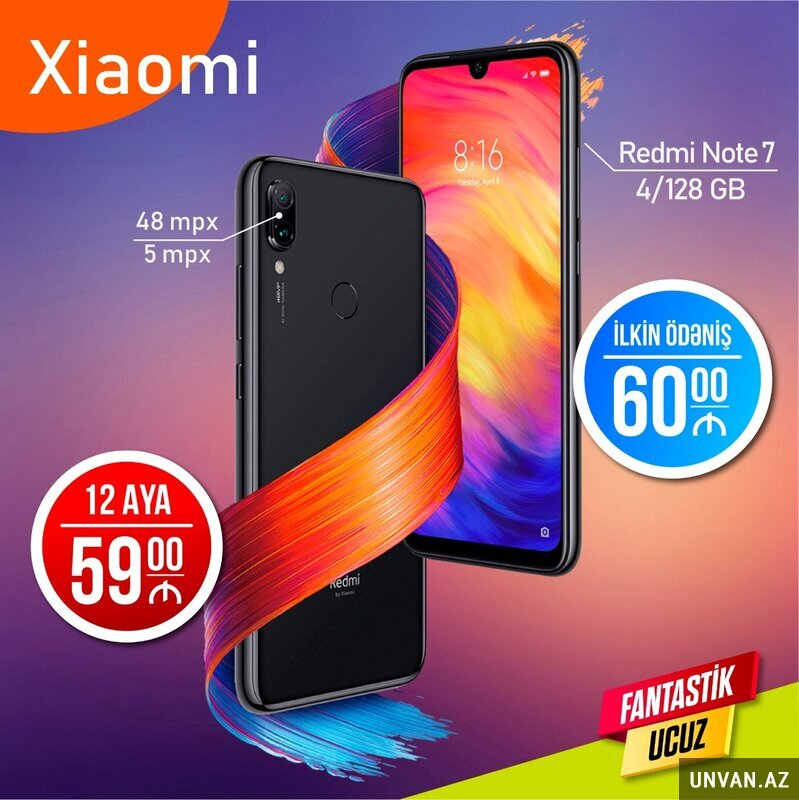 Redmi Note7 telefon