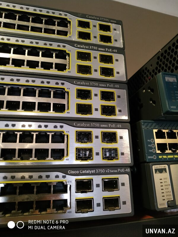 Cisco switch 3750-PoE48
