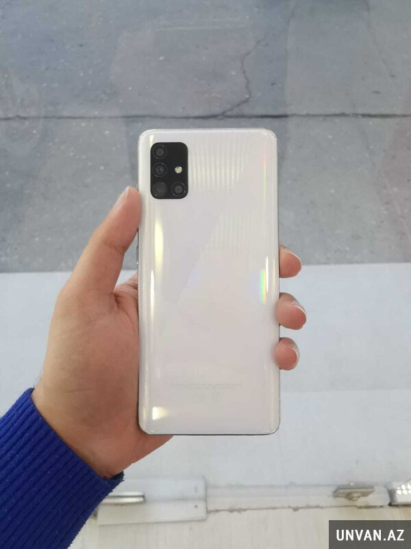 Samsung Galaxy A51 White, 128GB telefon