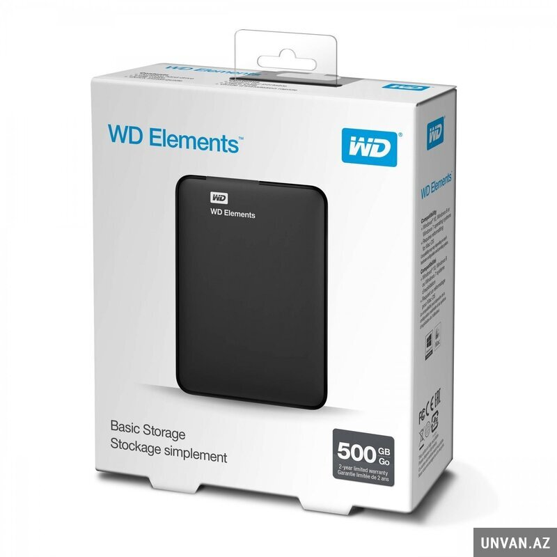WD Elements basic storage 1TB