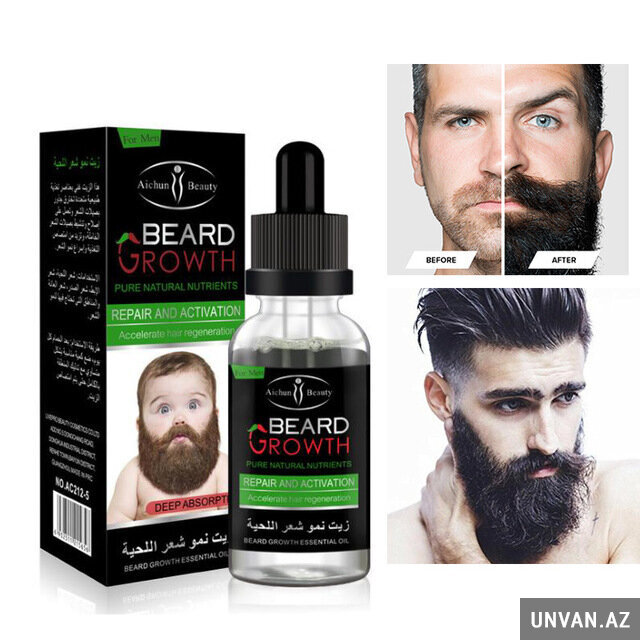 Saqqal çıxardan serum Beard growth
