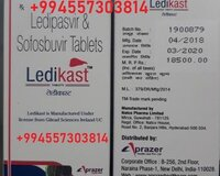 Ledikast (sofosbuvir400mg ledipasvir90mg) India