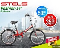 Velosiped Stels Fashion 24 Qatlanan Sərfəli Kredit