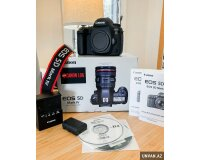 Canon EOS 5D Mark IV DSLR Camera with 24-70mm