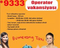 Taxi oparator
