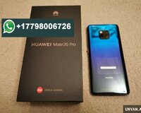 Original Huawei Mate 20 Pro 6GB 128GB Mobile Phone