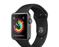 Apple Watch Series 3 (42mm, Space Gray Aluminum Cas