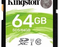 Kingston SDXC Canvas Select yaddaş kartı (64GB)
