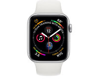 Apple Watch Series 4 (44mm, Silver Aluminum Case wi