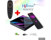 Smart TV Box H96Max Ultra + Air Maus