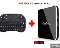 Smart TV Box H96Max X2 + Klaviatura
