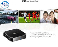 Smart TV Box X96 mini Android 7.1