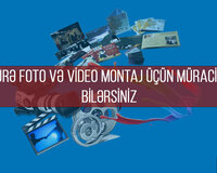 Video və foto montaj