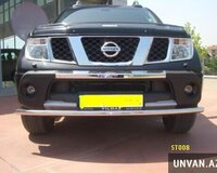 Nissan Navara Tetri Front Guard ST008 on qoruyucu