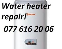 Repair of water heaters. House Call