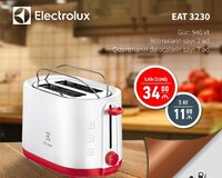 Toster Electrolux