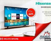 Hisense 108 Ekran Full HD Smart Tv Endirimli Nəğd