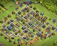 Clash of Clan oyunu