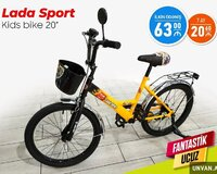 Velosiped Lada Sport Kids Bike 20 Hissə Hissə