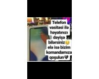 Telefon vasitesi ile is