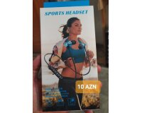 Sports Headset Bluetooth qulaqlıq (nauşnik)