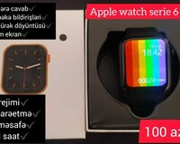 Saat smart tam ekran Apple Watch 6 series copy
