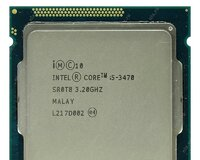 Intel Core i5 3470 cpu Təzə