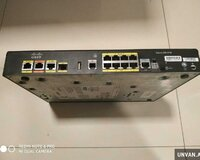 Router Cisco 891FW 8 ədəd gigabit port