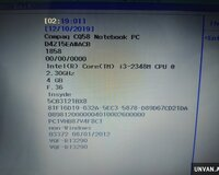 Hp cq58 core i3