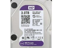 3 Tb WD Purple HDD
