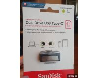 Sandisk Type C 64 Gb Flaskart Telefon ucun Flashka