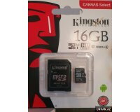Kingston 16 Gb Yaddas karti Telefonlar ucun