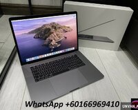 "Apple MacBook Pro Retina 15.4 ""2019 256GB SSD 16GB"
