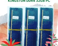 Brend :kingston ram Model: ddr4 32gb