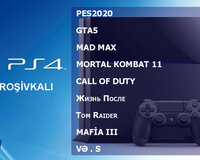 Playstation 4 Full oyun