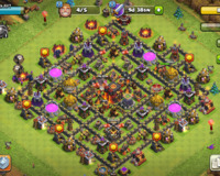 """Clash of Clans"" oyun akkauntu"