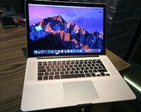Macbook pro 15.4 Retina Core i7/ 500 gb ssd