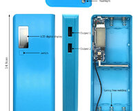Power bank qutusu 5x18650