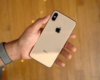 Iphone xs max 64 gold duos -1300