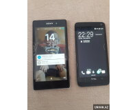 HTC One M700 dual sim ve Sony Xperia Z1