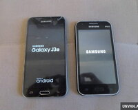 Samsung Galaxy J3 3016 ve Samsung Galaxy J1 2015